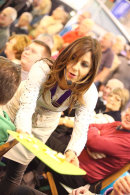 Julia Bradbury at Camping & Caravan Show at the NEC in Birmingham, Feb 2014
