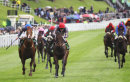Suegioo (Ryan Moore) wins the Chester Cup at Chester races, May 2014.
