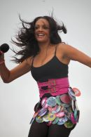 Alesha Dixon performing @ T4 on the Beach.