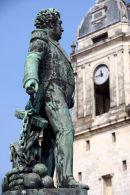 Statue at La Rochelle.