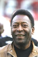 Pele @ Gordon Banks statue unveiling at Stoke City FC.