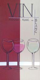 Vin Rouge, Rose ou Blanc