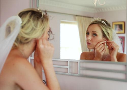 The bridal preparations