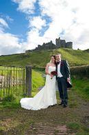 At Carreg Cennen Castle, Llandeilo