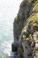 Cliffs at Durlston near Swanage