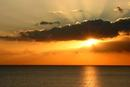 Sunset from Chesil Beach near Abbotsbury