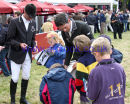 Mark Todd & Jonathan Paget sign autographs
