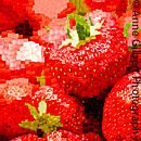 Strawberry Mosaic