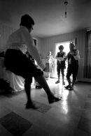 Clog dancer