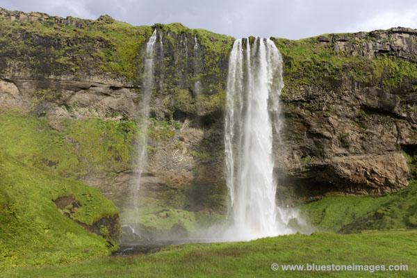 01M-0757 Seljalandsfoss Waterfall Near Hvolsvollur Iceland