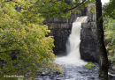 01M-4159 High Force and the River Tees in the Autumn Teesdale County Durham UK