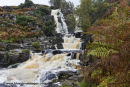 01M-5127 Bleabeck Force In Autumn Upper Teesdale County Durham UK