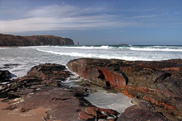 02D-1611 Am Buachaille Sandwood Bay Sutherland West Coast of Scotland