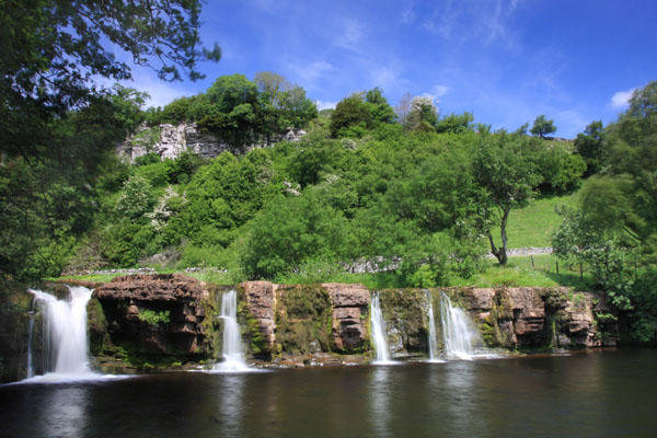 08-0997 Wainwath Force Near Keld Swaledale Yorkshire