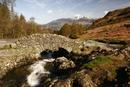 5729 Ashness Bridge and Skiddaw, English Lake District.