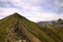 D2-6 Walkers on the Crete Lavigne Cherue, French Pyrenees