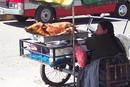 Peru 026 Street Vendor in Huaraz.