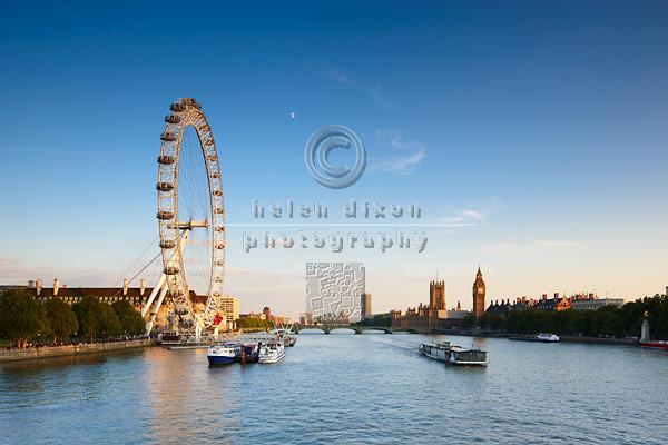 london eye skyline. London Skyline Panoramic