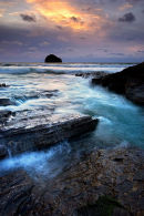 Incoming Tide - Trebarwith Strand, Cornwall
