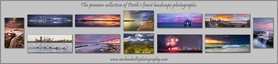 Fine art landscape seascape and cityscape prints of perth and western australia by michael willis photography