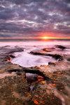 Last Light at North Cottesloe Beach