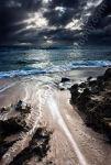 Storm Clouds Over Trigg Beach