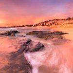 Two Rocks Sunset