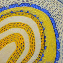 Yellow Bend River Paint Cake