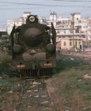 141-202 was shunting in the yard at Hanoi Gia Bat.