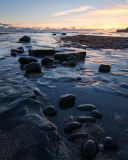 Winter Kimmeridge Sunset