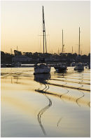 Just before dawn on the River Hamble