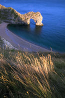 Durdle Door from high