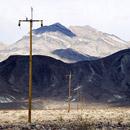 Death Valley telegraph poles