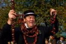 King Conker David Jakins at the annual World Conker Championships