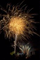 Annual Fireworks display at Kenilworth Castle on Guy Fawkes or Bonfire night
