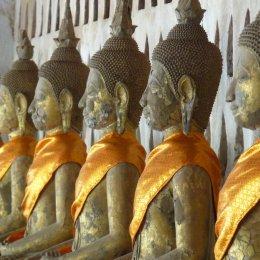 """""""Wat"""" a lot of Buddah's, Vietiane, Laos"""