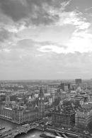 London skyline, portrait