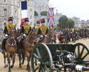 The King's troop of the Royal Artillary