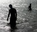 Boys in the sea