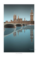 Westminster Reflection Aqua Green