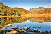 Blea Tarn in autumn 1