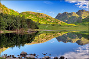 Blea Tarn in summer 1