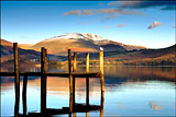 Blencathra and Derwentwater Jetty