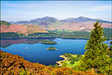 Derwentwater and the Derwent Fells