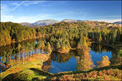 Tarn Hows in Autumn.