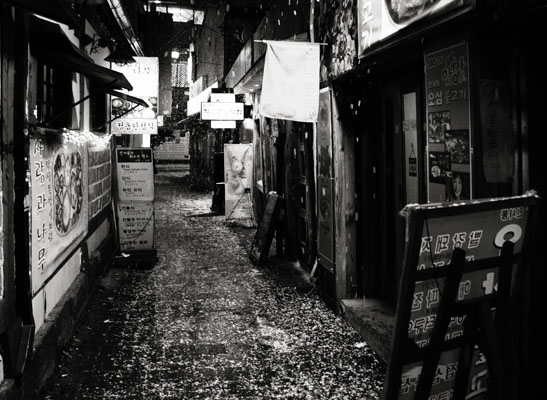 Seoul's alley under the snow 2