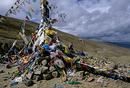 Prayer flags Tibet