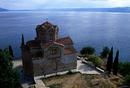 Lake Ohrid church