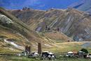 Caucasus watchtowers