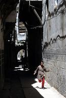 Damascus alley